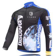 Herren Sportkleidung Radfahren Jersey Fahrrad Fahrrad Langarm T-Shirt