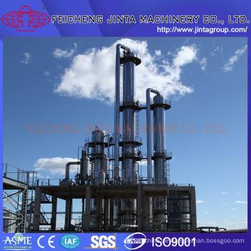 Alkohol- / Ethanol-Geräte-Manufaktur Drei-Säulen-Drei-Effekt-Destillationsanlagen