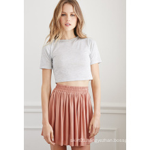 Lastest Special Design Pleated Women Mini Skirt