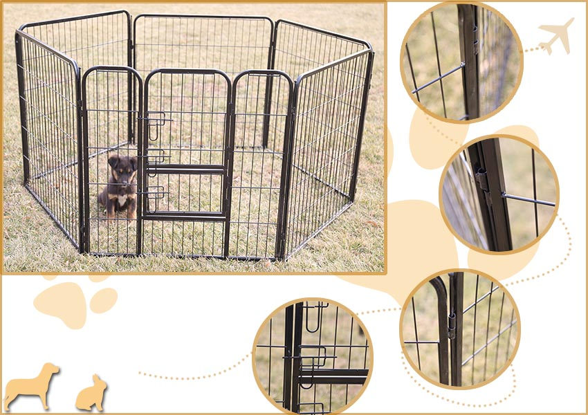 outdoor pet playpen
