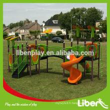Prix d'usine pour enfants avec aire de jeux avec design personnalisé, terrain de jeu extérieur mis en vente (LE.QI.015)