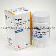 OEM Acceptable Anti-HIV Lamivudina 3tc+Viramune+Zidovudinum Tablet