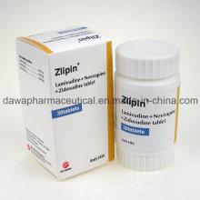 OEM aceptable anti-VIH Lamivudina 3tc + Viramune + Zidovudinum tableta