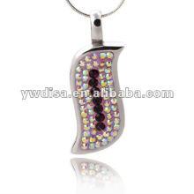 Pendentif en cristal en alliage en gros de haute qualité avec prix bon marché
