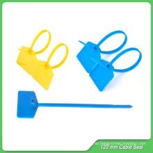 Sello de seguridad (JY120), tire un sellado hermético, sellos de plástico