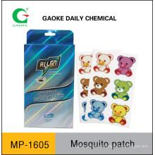 Patch repelente de mosquitos (sem DEET)