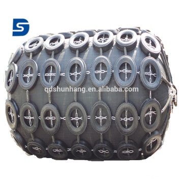 BV Certified Pneumatic Rubber Fender For Ship Berthing Protection