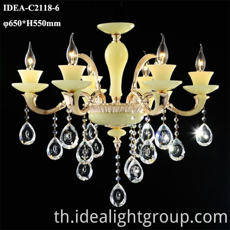 pendant candle chandelier