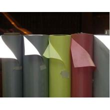Tissu extensible réfléchissant hi vis coloré, tissu irisé de couleur blanche en spandex réfléchissant