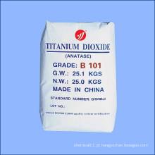 Matérias-primas químicas Dióxido de titânio para a indústria geral Anatase B101
