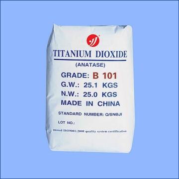 Дешевые анатаза класса диоксида титана B101 с заводской цене