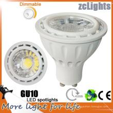 Ampoureur LED GU10 gradable avec durée de vie de 40000 heures