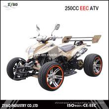 250cc EEC Racing Quad avec roue en alliage de 14 pouces Moteur refroidi par eau