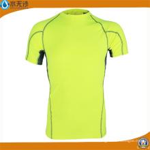 Venta al por mayor Camisetas de manga corta para hombres Camisetas de deporte