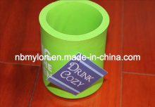 Hot Selling New Design 5mm Promotional Foldable Neoprene Can Cooler with Bottom