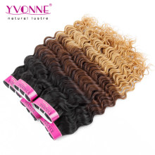 Best Quality Deep Wave Peruvian Ombre Hair Extension