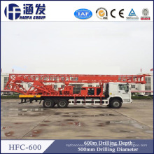 Deep Water Drilling Rigs Hfc-600 Truck Mounted Water Well Drilling Machine