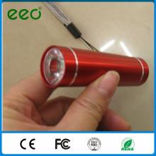 Lampe de poche miniature personnalisée à bon marché, petite torche à lampe de poche mini-lampe de poche petite couleur pour enfants, mini lampe de poche led