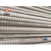 Värmeväxlare rostfritt stål korrugerade rör