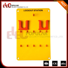 Elecpopular Good Insulativity Yellow 10 Padlocks Protable Safety Lockout Tagout Station