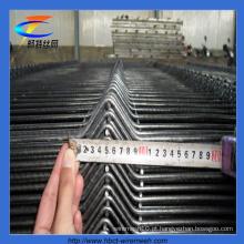 As vendas quentes de Anping triângulo revestido PVC curvam a fábrica de cerco