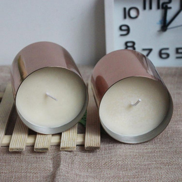 Fragrance Soy Wax Candle dengan Luxury Copper Holder