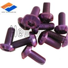 Gr5 titanium button head screws