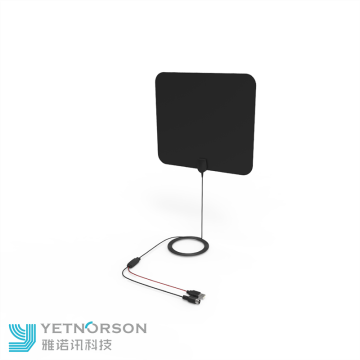 Yetnorson Ultra Thin Flat TV Antena do wnętrz
