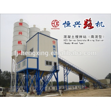 HZS75 Automatic Concrete Batching Plant Concrete Mixing Equipment