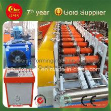 Máquina formadora de estrutura de aço de bitola leve HMI e PLC