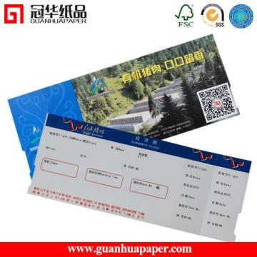 Caisse enregistreuse Type de papier Billet d'événement thermique
