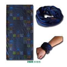 Bandana tricoté sans couture multifonctionnel de sports de polyester de microfibre (YKY1006-6)