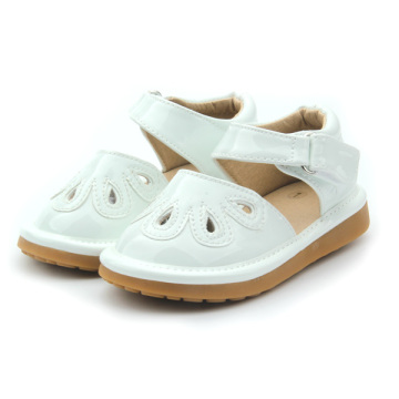 White Kids Girls Shoes Wholesale Piepende schoenen Kinderen