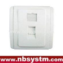 Placa frontal, tipo 86, 1 porta