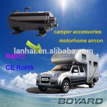 Peças de compressor de ar do carro CE ROHS 407C R410A hvac hermética para telhado montagem o aparelho de ar condicionado