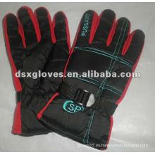 Hombres esquí guantes deportivos con terciopelo