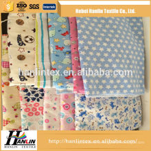 145gsm reactive printed stock cotton flannel