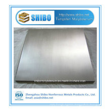 Pfofessional Manufacturer Pure Tungsten Plate with Best Quality