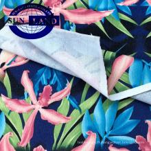 chemises basiques impression sur papier 60% polyester 40% coton tricot jersey simple