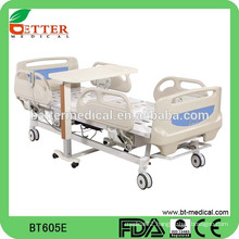 High quality used hospital beds for sale with central locked system