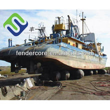 Heavy duty marine RSS3 Rubber airbags for USA yard use