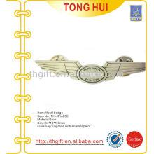 Étui / badge en souvenir en métal pour la sécurité aérienne