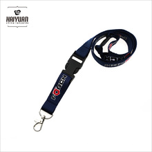 Thick Polyester Neck Lanyard with Detachable Buckle and Custom Logo