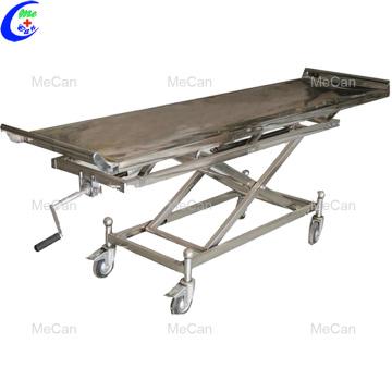 Тележка для перевозки тела похоронного морга