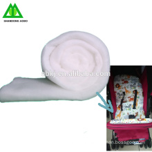 Best Quality comfortable bamboo fiber wadding /padding making for baby seat.