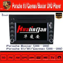Lecteur DVD de voiture pour Porsche Cayman / Boxter Radio Navigation Hualingan
