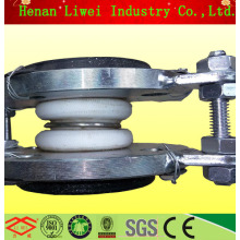 Small size with steel vacuum ring ptfe vacuum bellows