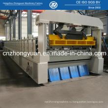 Профилегибочная машина для производства алюминиевых длиннопролетных крыш