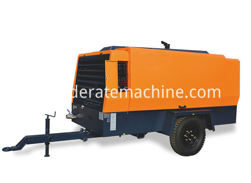Diesel Movable Screw Air Compressor