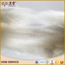 china suppliers 100% pure chinese inner mongolia cashmere fiber white colour